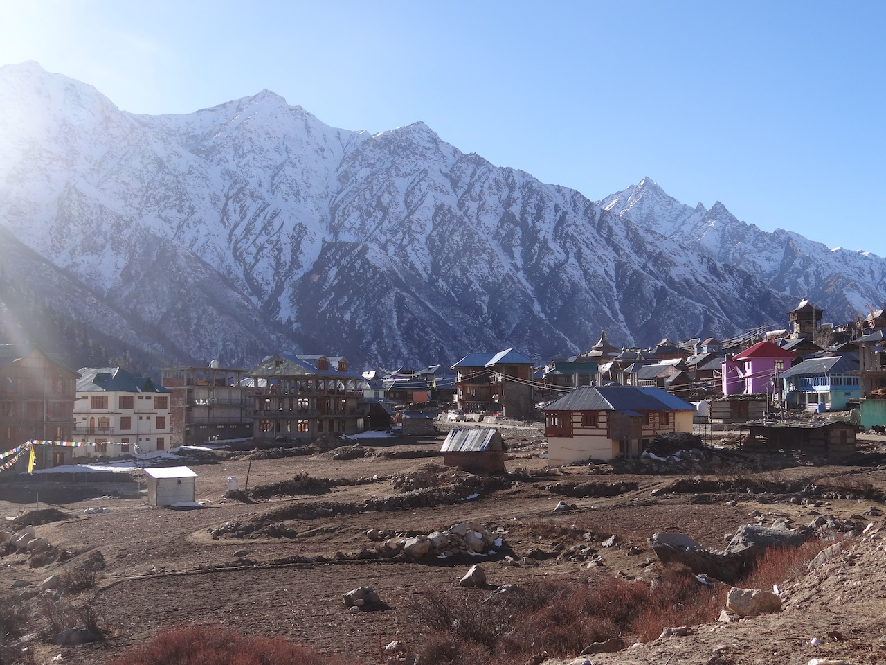 Photo 7. Chitkul, the last village of the Baspa Valley. People of the village uses the the totally different language called Chitkuli