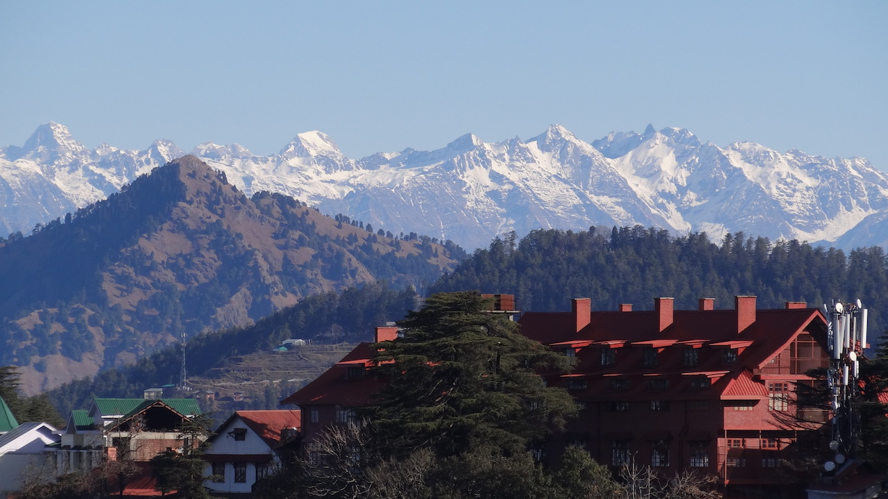Phote 9. Shimla, the capital of Himachal Pradesh