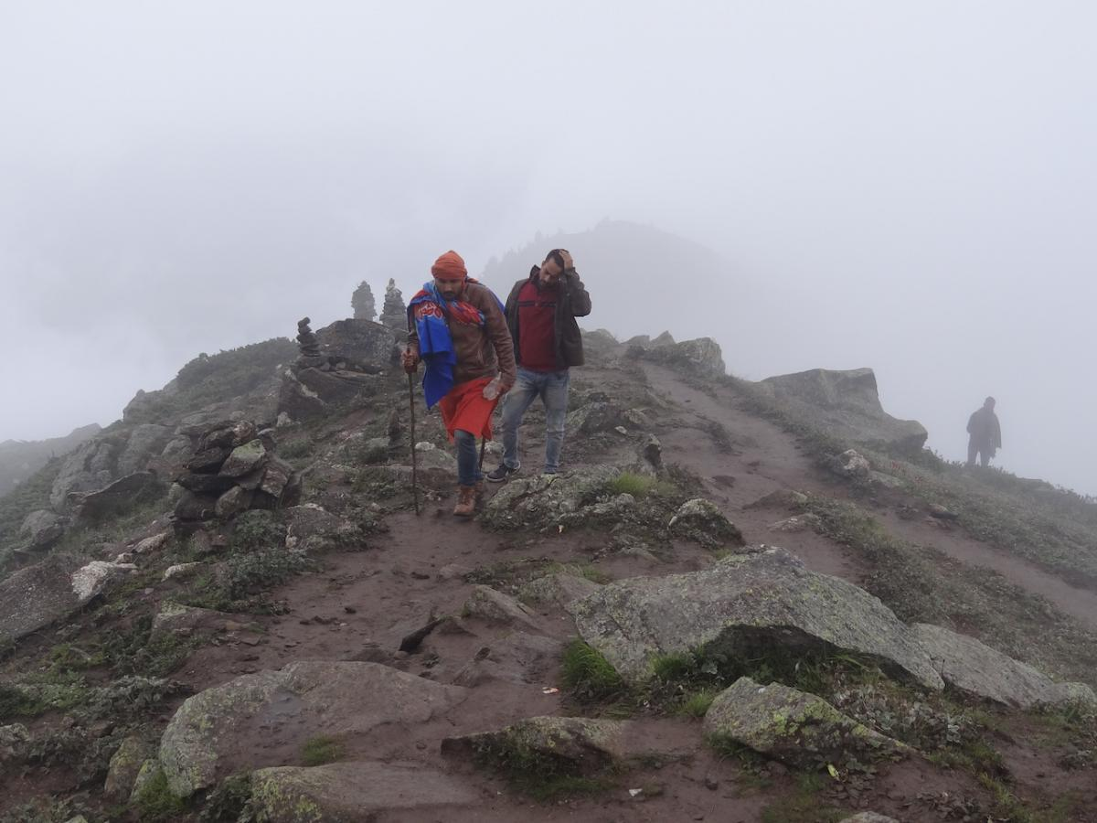 Trekking na szczyt kinnaurskiej Kajlasy
