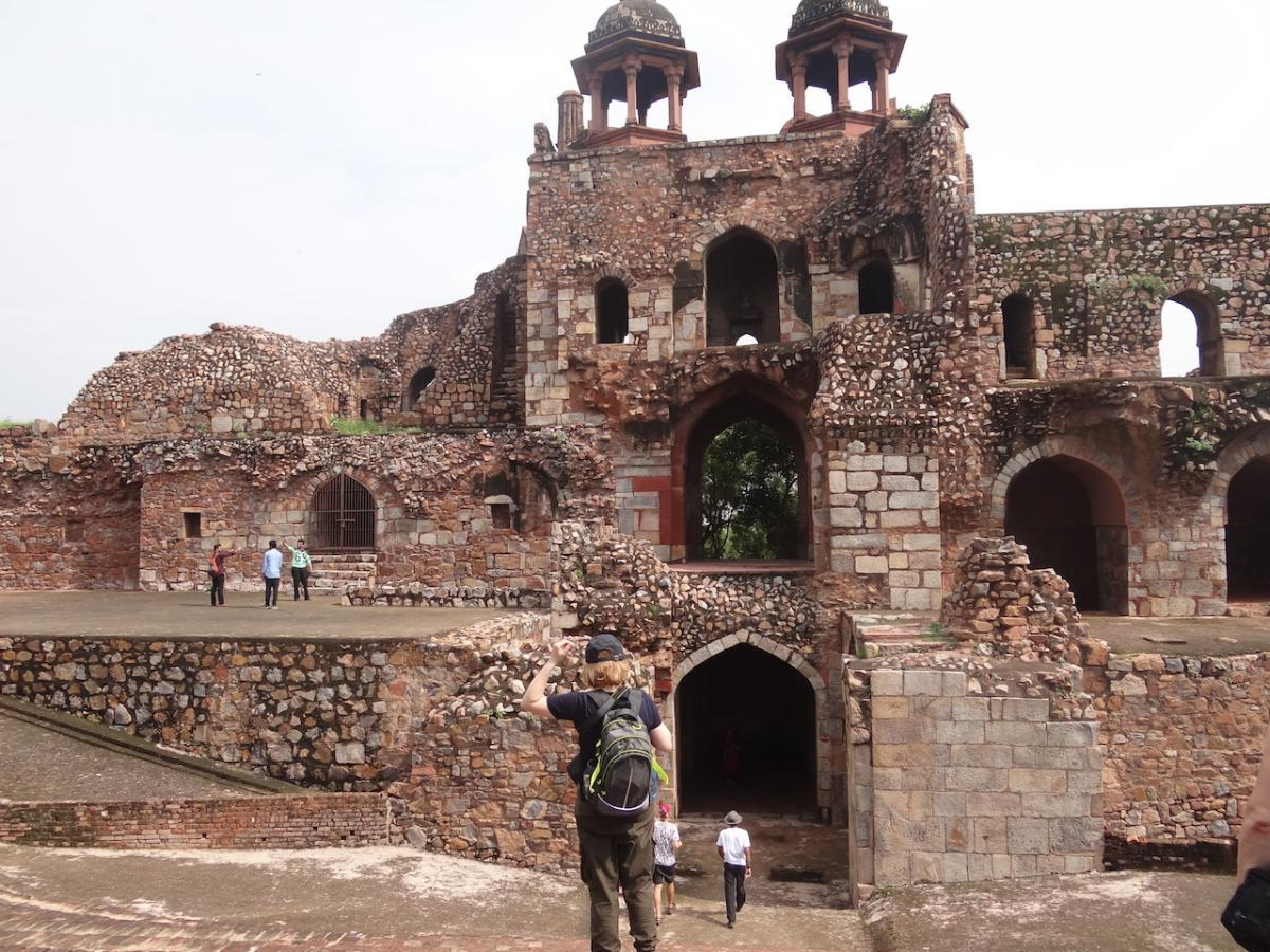 Delhi: Stary Fort (Purāṇa Qilā)