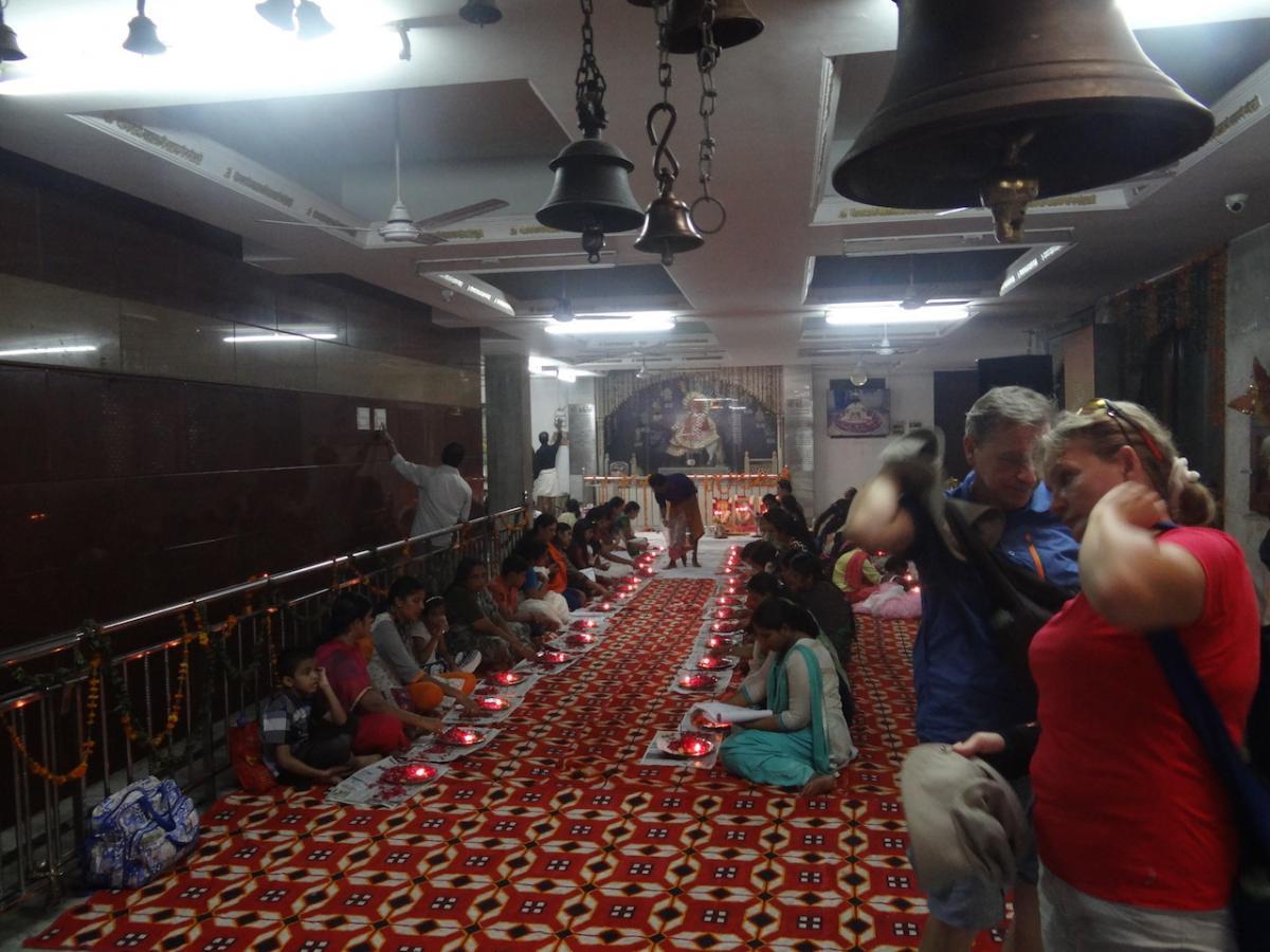 Delhi: Świątynia Potęgi Jogi (Yōgamāyā mandir)