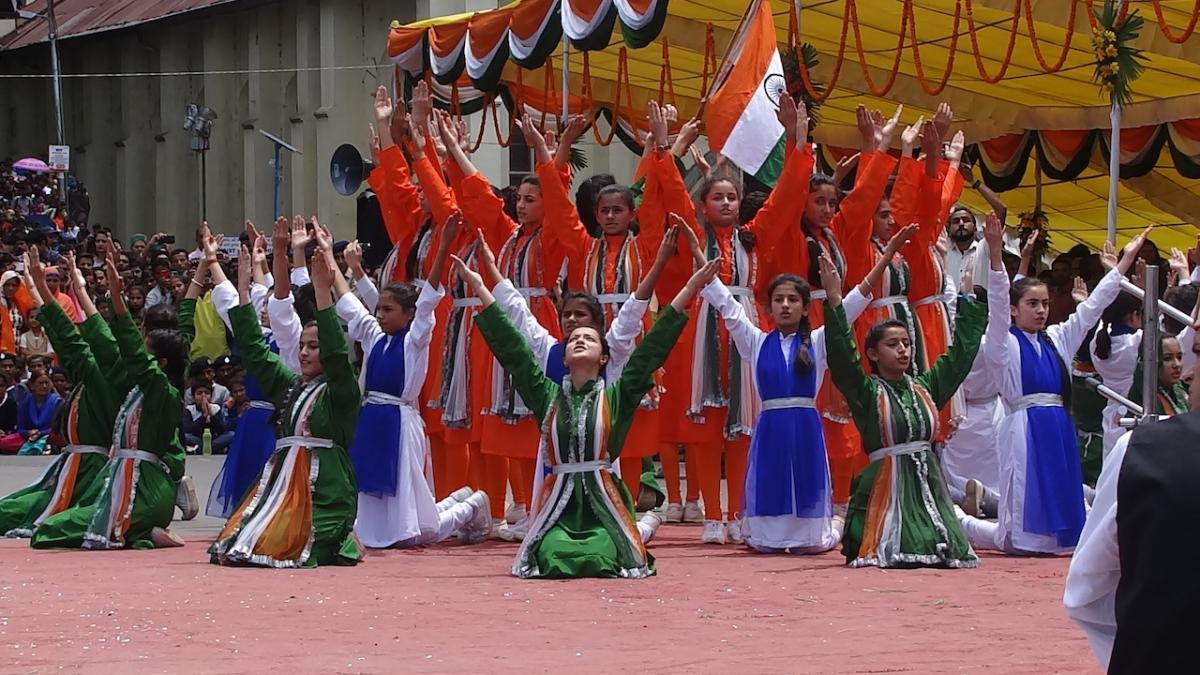 Shimla: Obchody Niepodległości Indii 15 sierpnia.