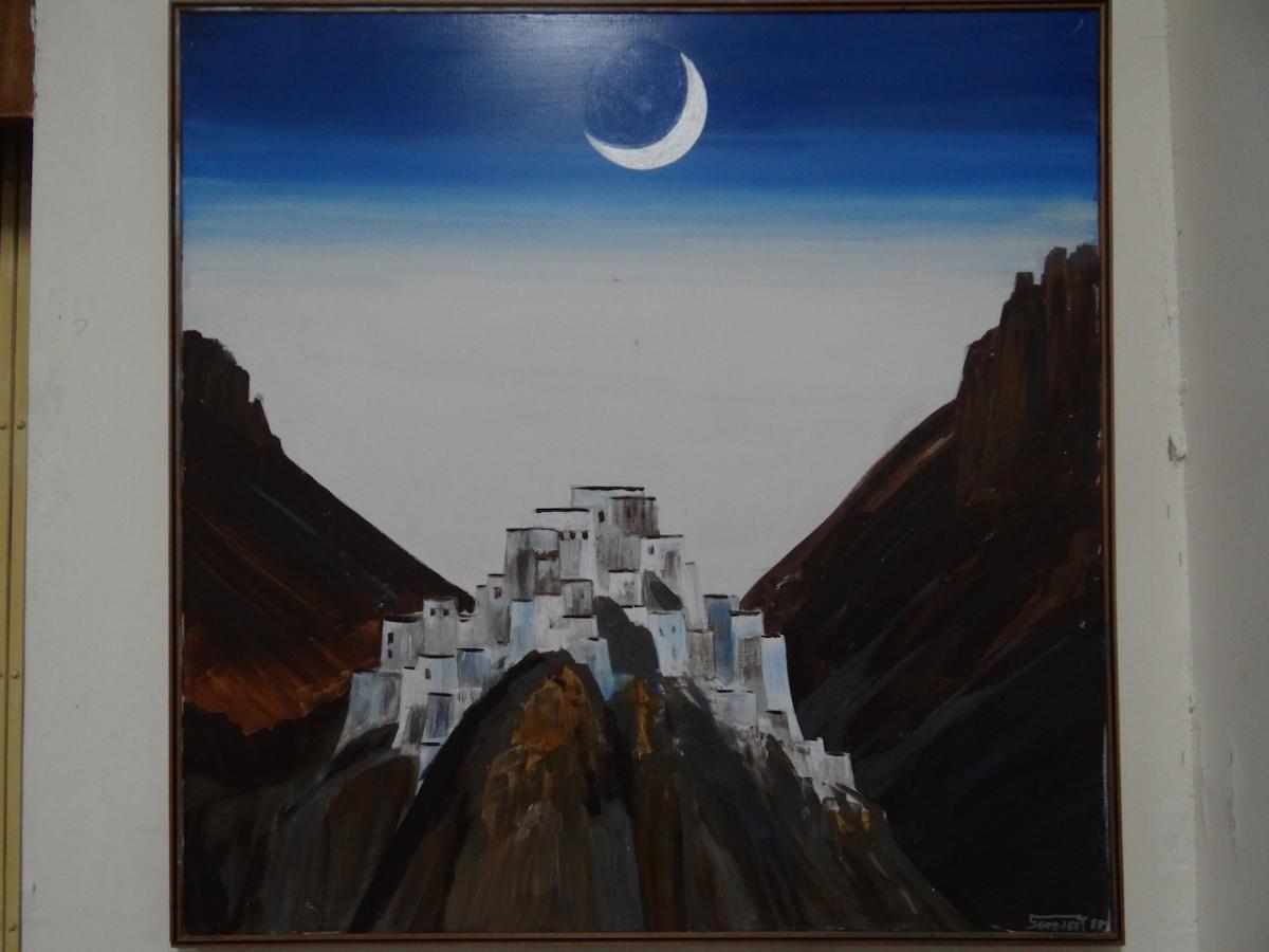 Ki Gompa w malarstwie N. Reoricha. Reorich Art Galery, Naggar