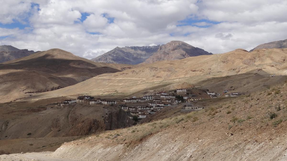 Kibber - najwyżej położona wieś