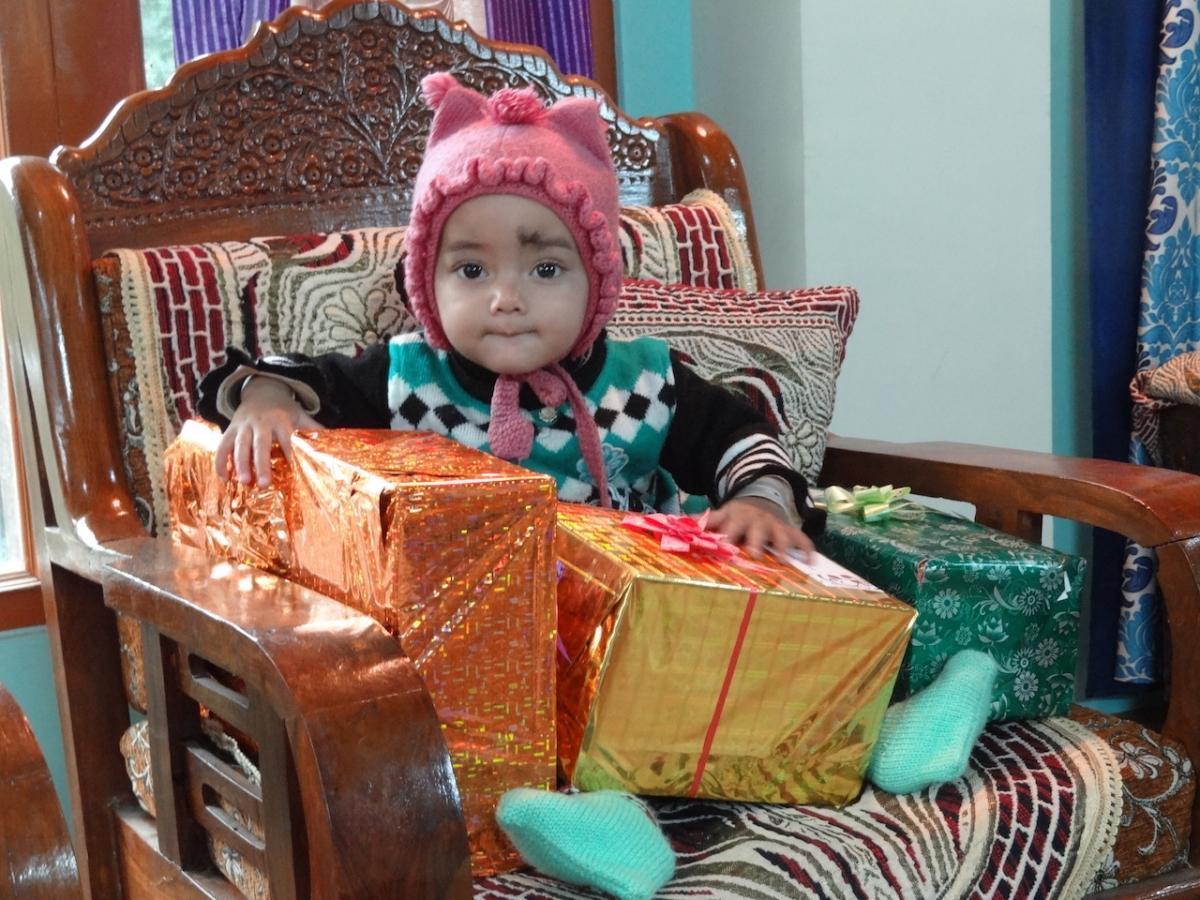 Rekong Peo: pierwsze urodziny malutkiej Kunju