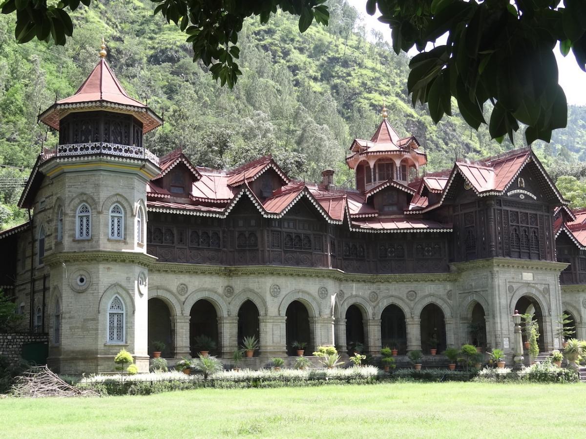 Rampur; Zamek Maharadży